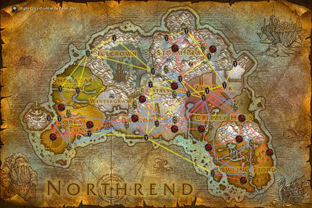 Northrend Flight Paths