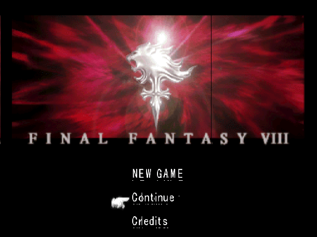 FF8 running with some artifacts